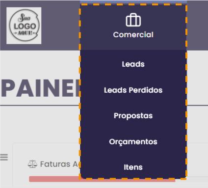 menu completo comercial - Apresentação - Comercial