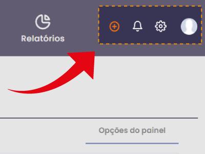 menu direito principal - Interface principal